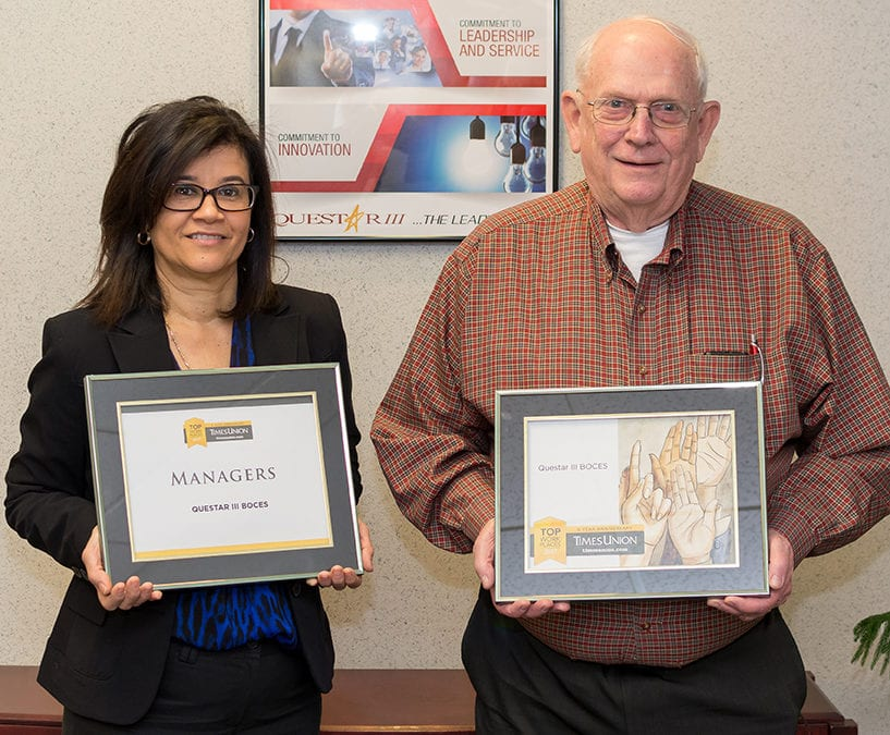 Questar III named a Top Workplace