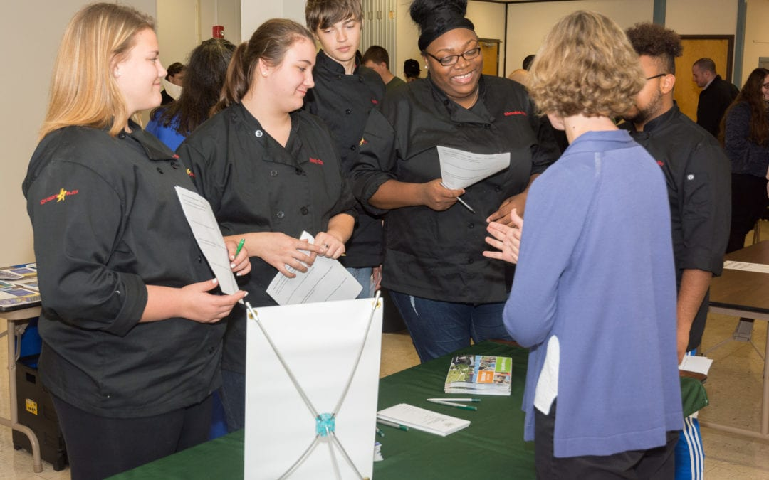 CTE students explore their college options