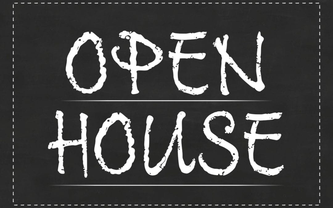 Open Houses for HS Programs