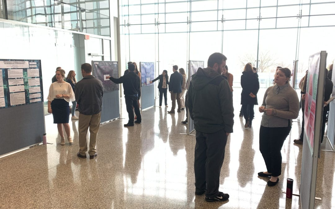 New Visions students present research