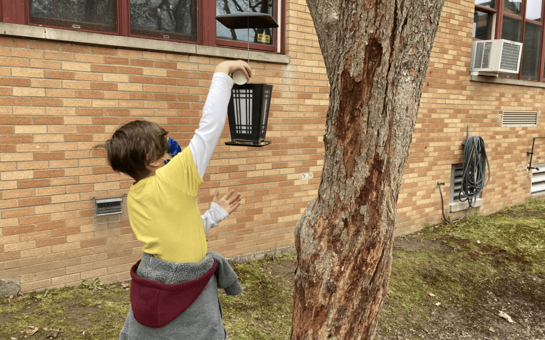 Students at George Washington School Celebrate Earth Day