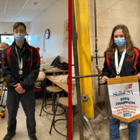 Two Questar III CTE Students Take First Place, One Takes Third in Statewide SkillsUSA Championships