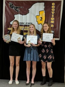 three girls soccer players named to all stars