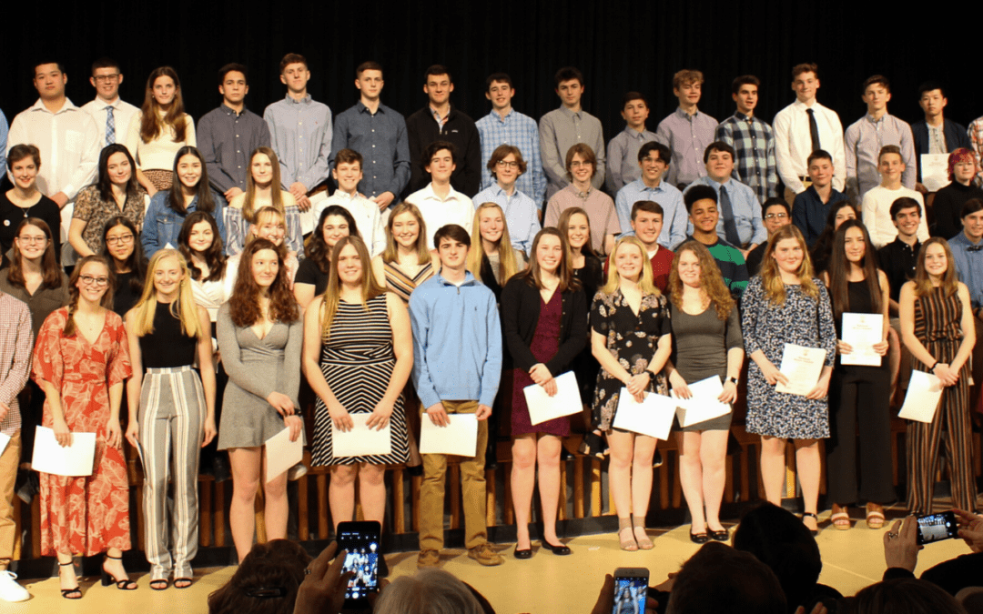 PICTURES: National Honor Society Induction Ceremony