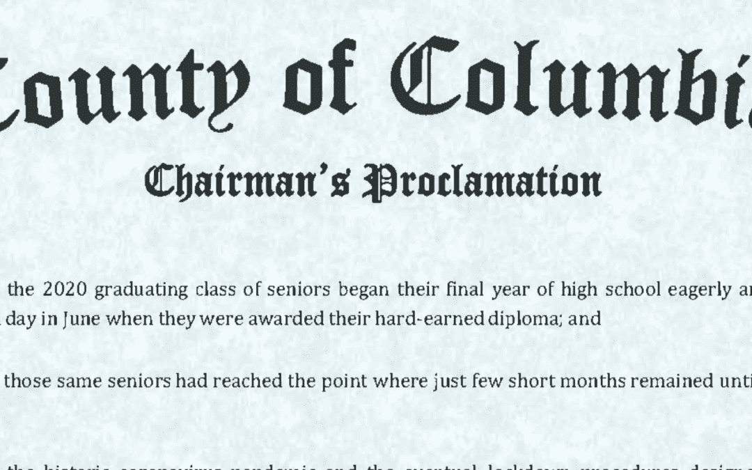 Columbia County Honors Class of 2020