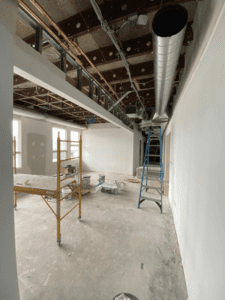 HS Guidance Suite Office Duct Work