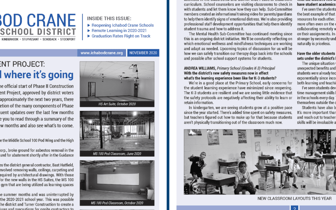 Fall 2020 District Newsletter Now Online, In Homes Soon!