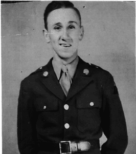 Harold Williams In The Military