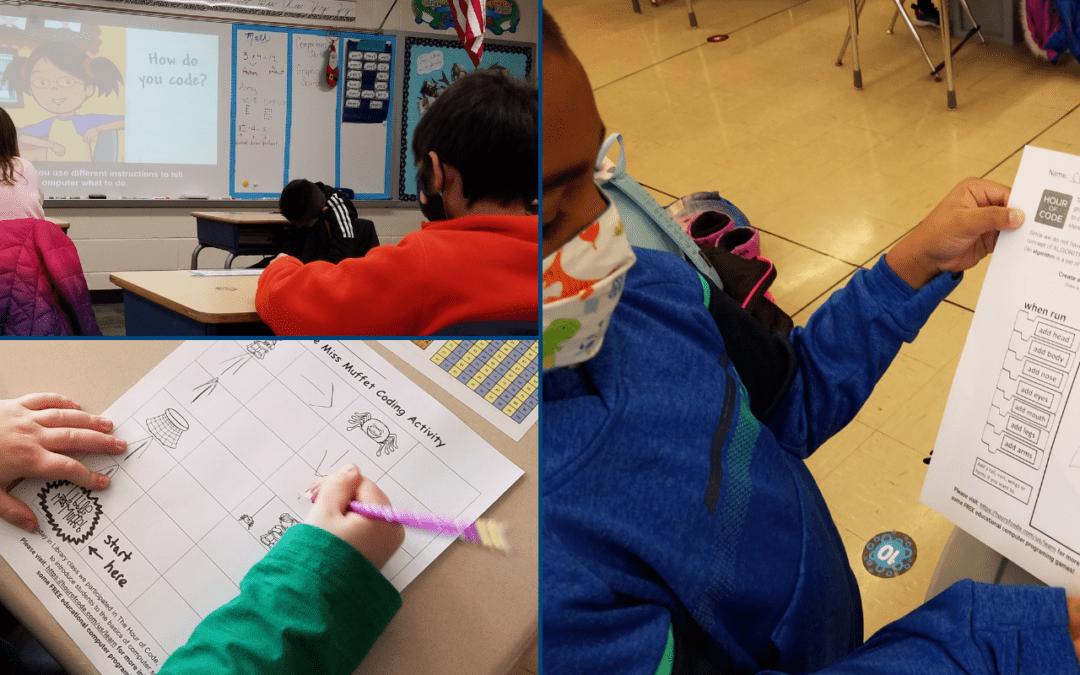 PICTURE: Demystifying Coding During the Hour Of Code