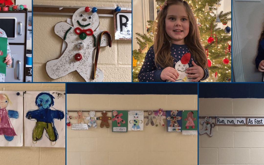 PICTURES: Remote Learners Decorate PS Hallways for Holidays