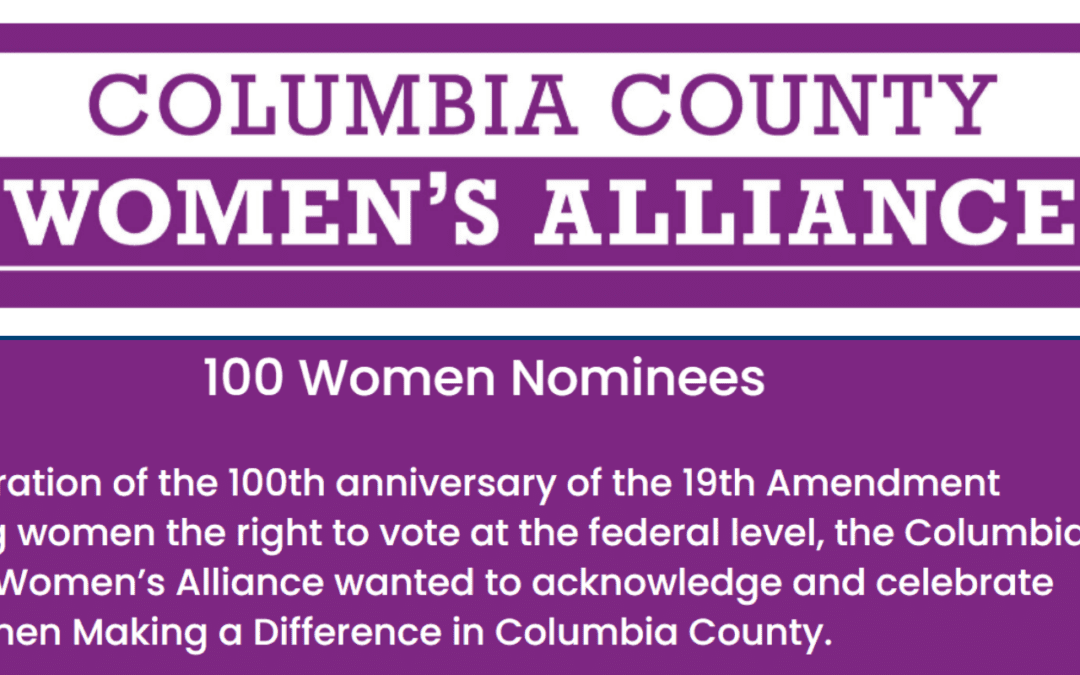 Staff Recognized by County Women's Alliance for Community Work