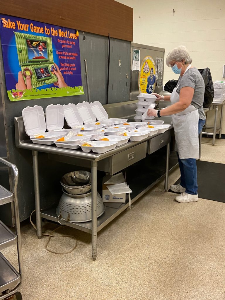 Preparing Meals for Remote Students