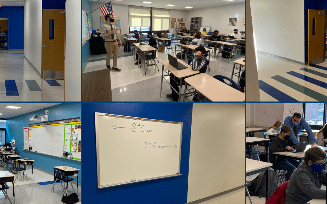 PICTURES: New & Improved Middle School 100 Pod!