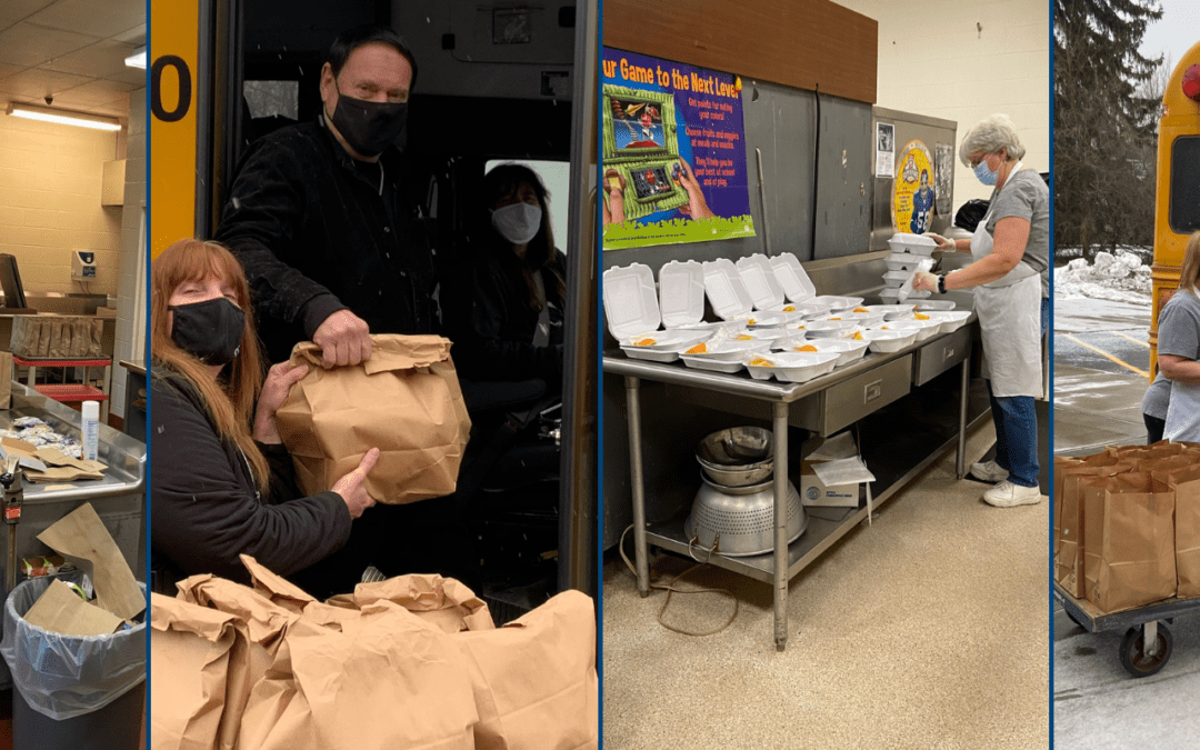 Meals and meal delivery for remote students