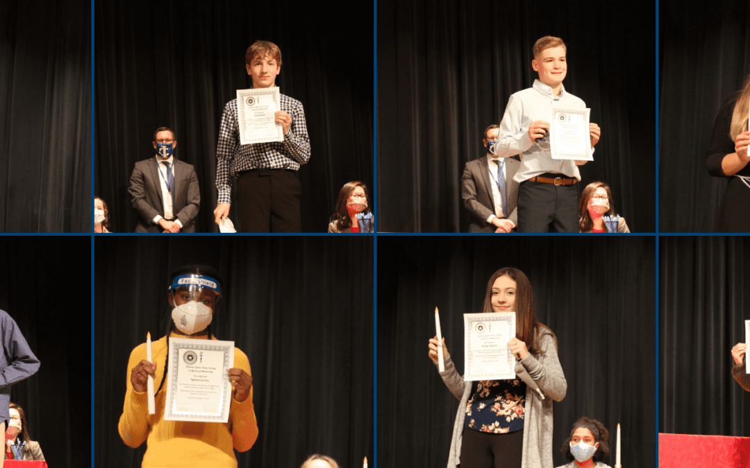 Junior Honor Society Induction Ceremony