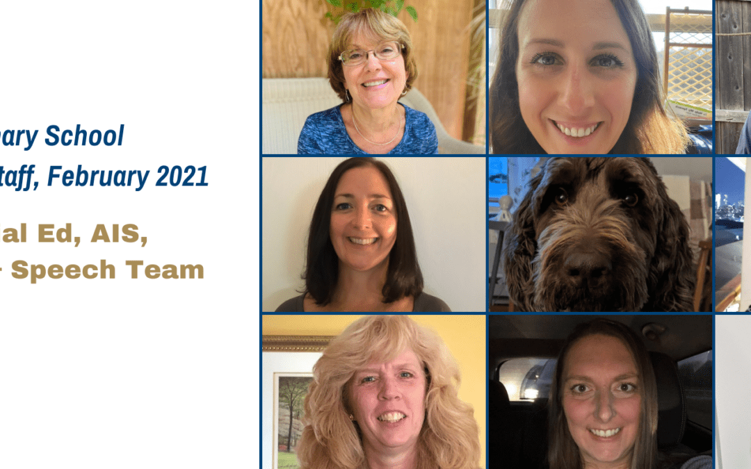 Primary School Spotlight Staff for February 2021!