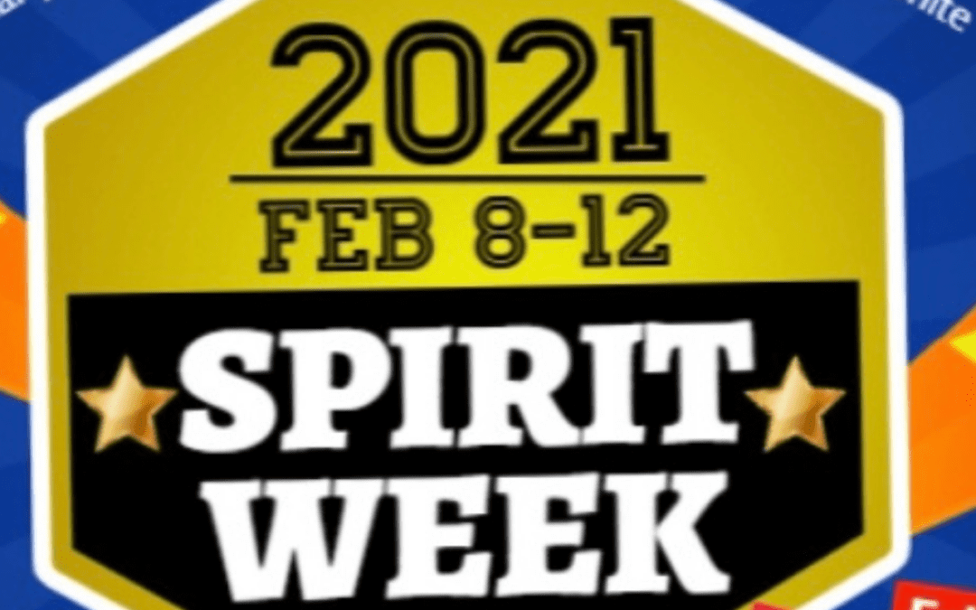 Middle School Spirit Week is February 8-12! Send In Your Pics!