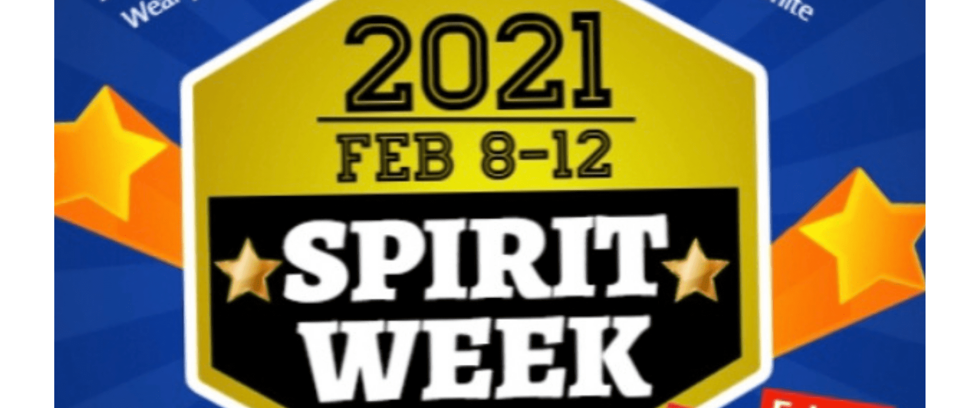 Middle School February 2021 Spirit Week