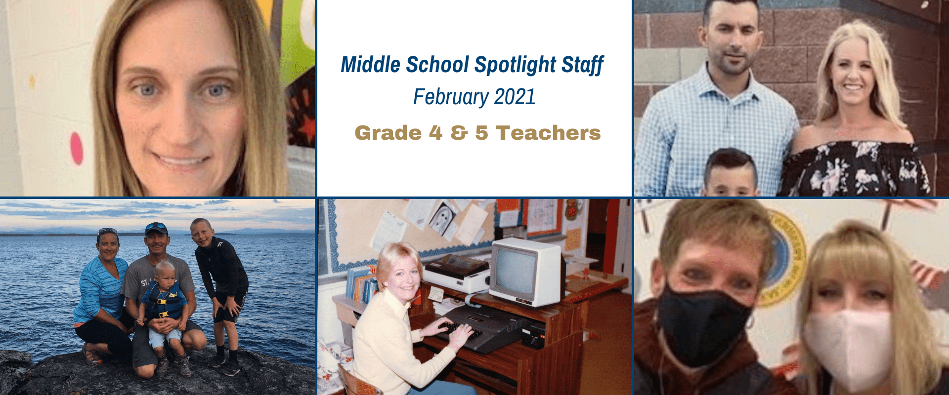 Middle School February Spotlight Staff