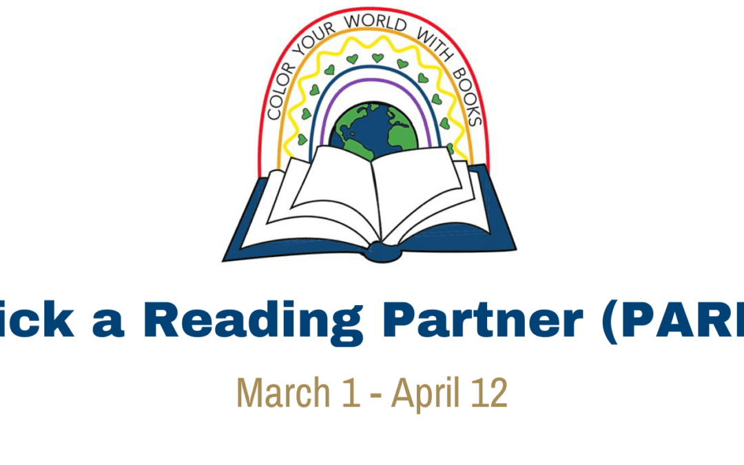 Pick a Reading Partner Runs from March 1 to April 12