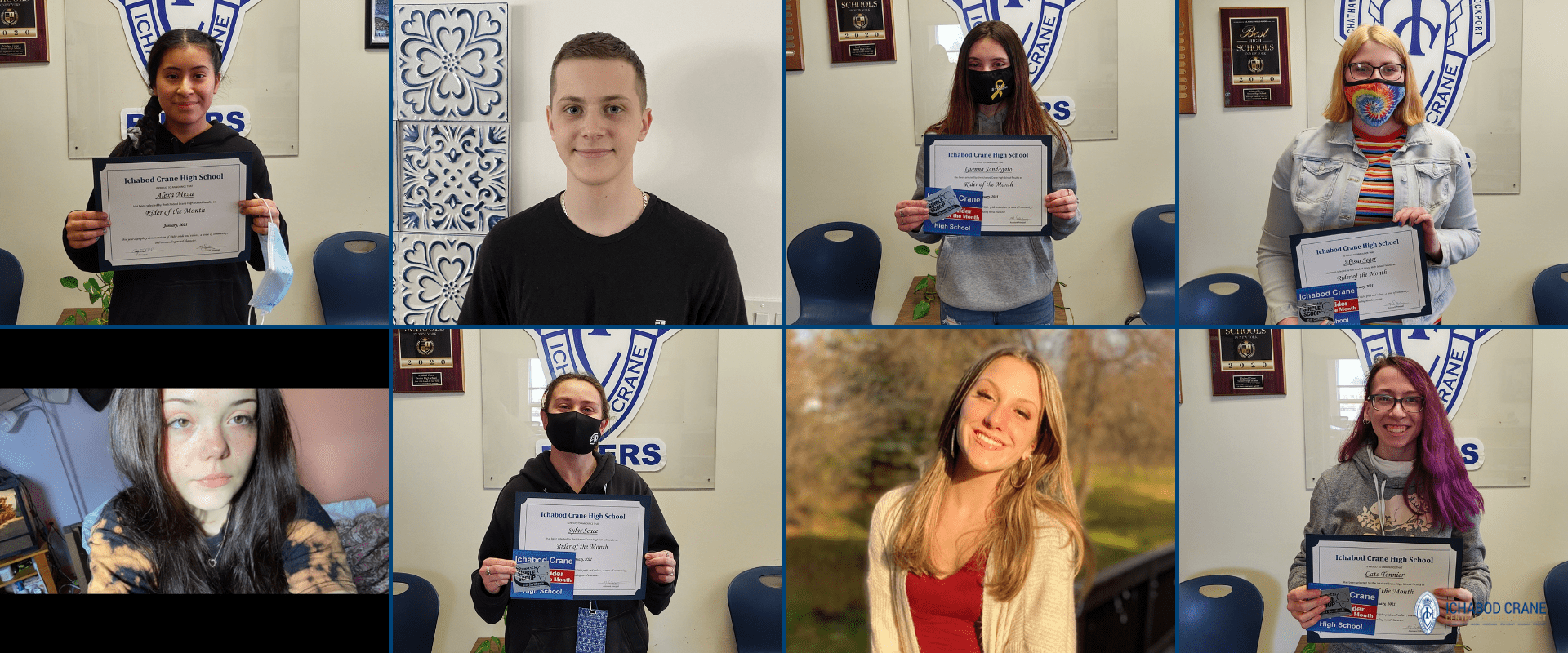 High School Riders of the Month for January 2021