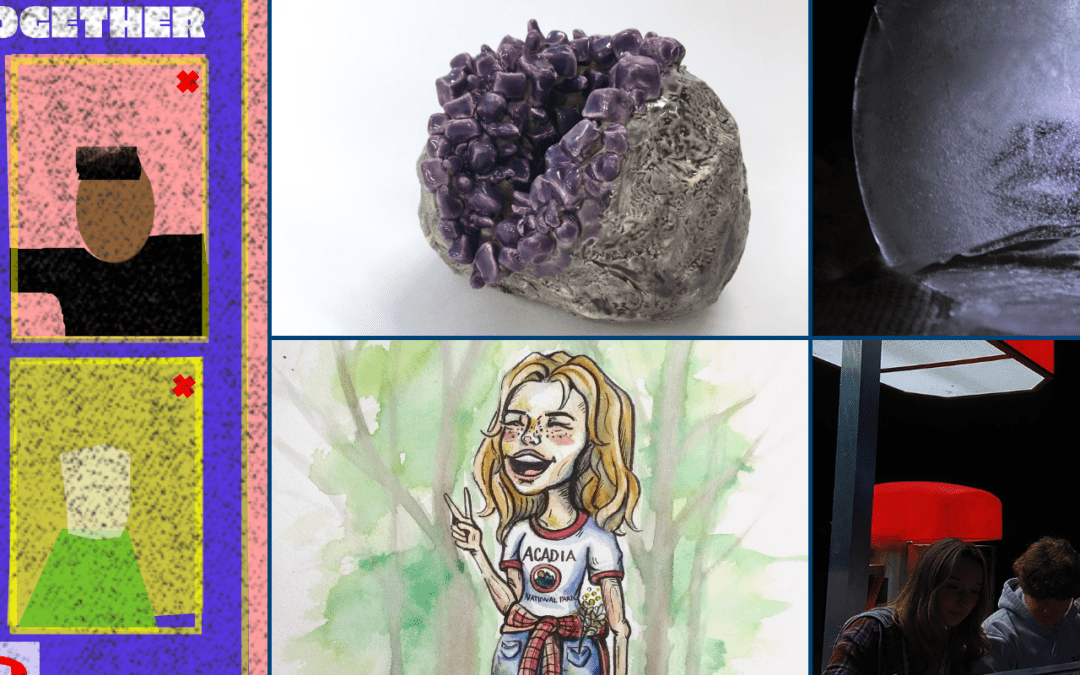 5 High School Artists Selected for Regional Juried Art Exhibition