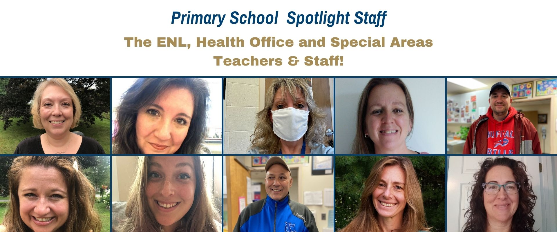 Primary School Spotlight Staff for March 2021