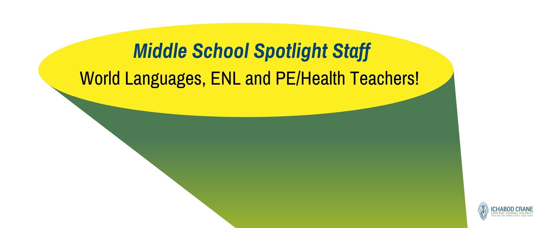 Middle School Spotlight Staff