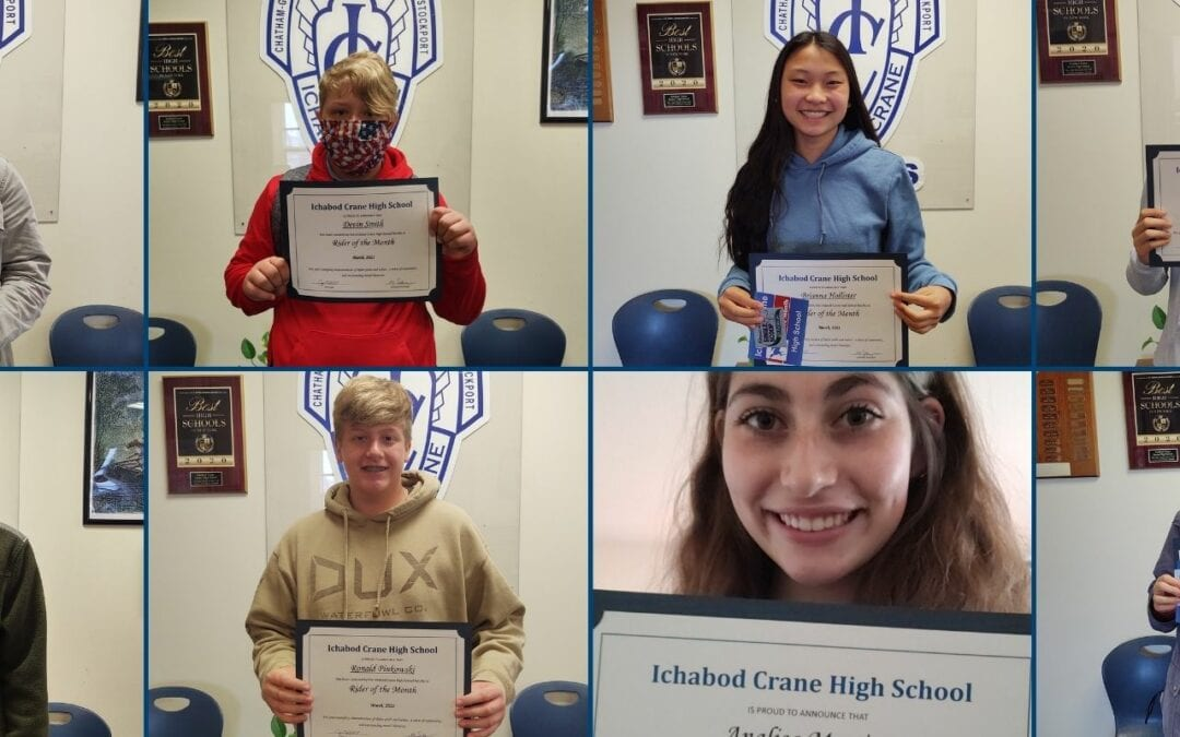 Riders of the Month: High School