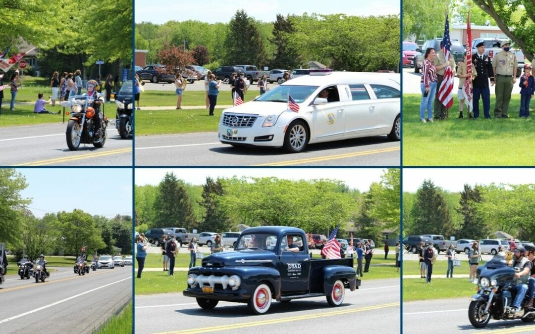 VIDEO & PICTURES: Students, Staff & Community Honor Cpl. Clifford Johnson