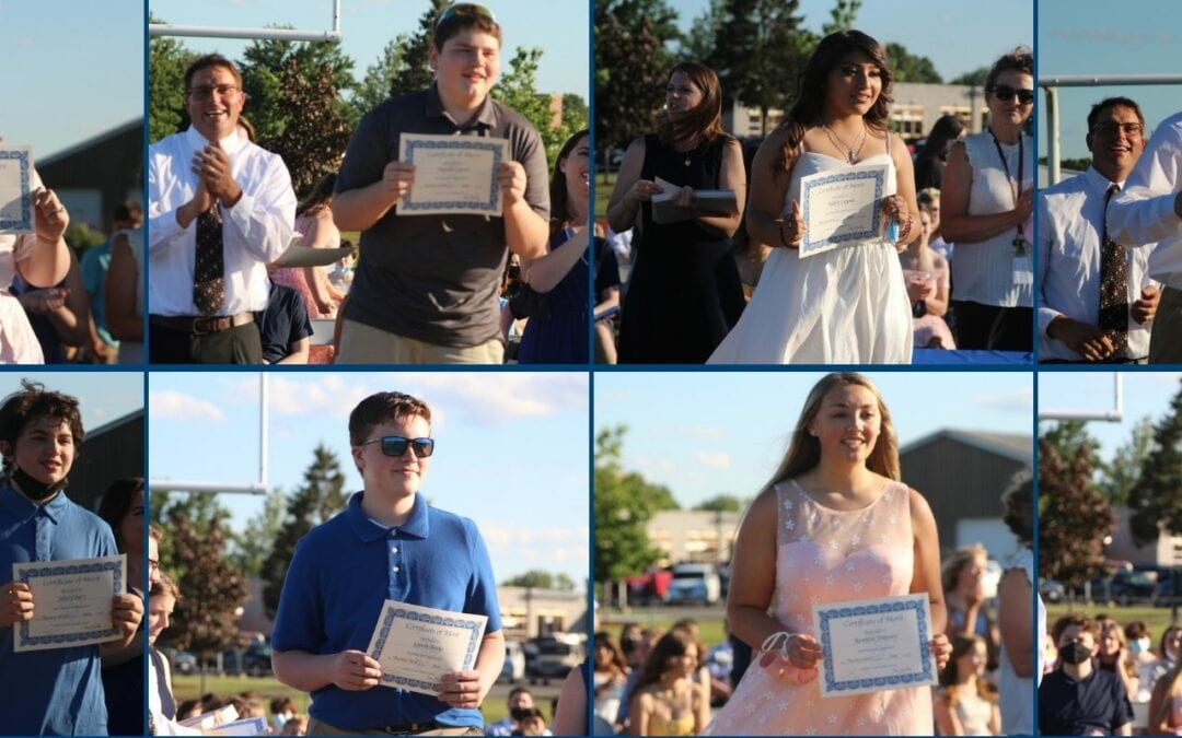 PICTURES: 8th Grade Moving Up Ceremony