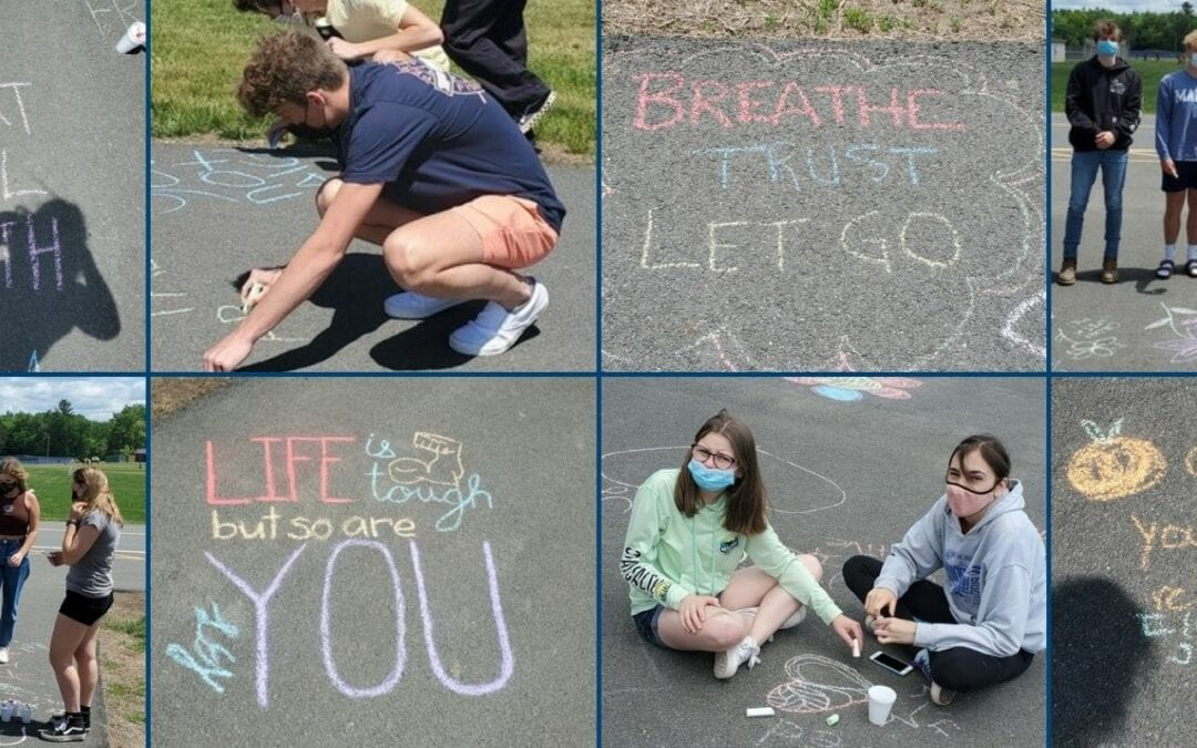 PICTURES: Chalk the Walk for Mental Health
